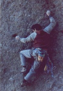 David Rubine on Future Shock, Pinnacles National Monument, CA